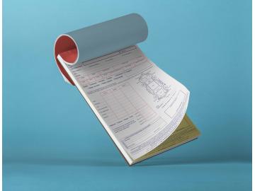 Liasses et carnets autocopiant